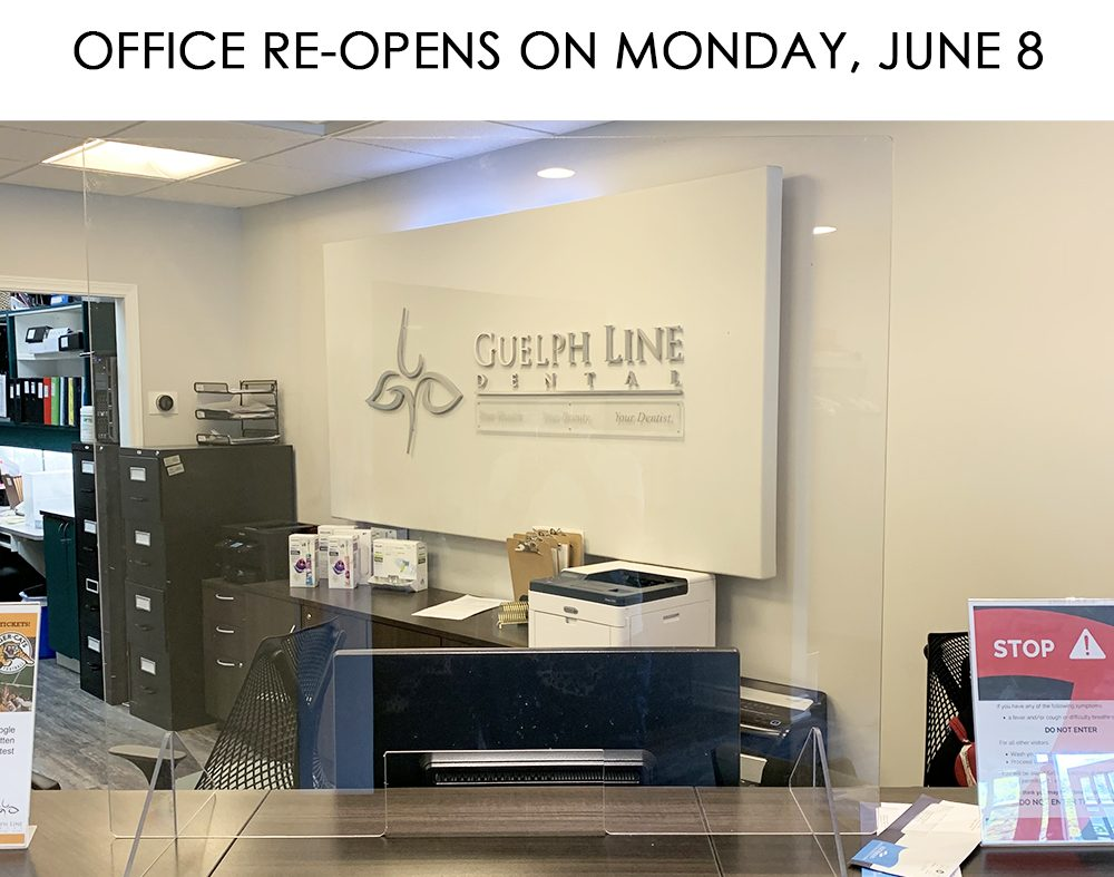 Office Re-Opens on Monday, June 8
